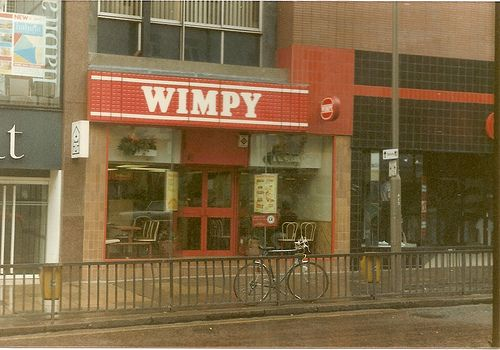 Bygone restaurants in Leeds.. This was on Briggate and became Burger King eventually
