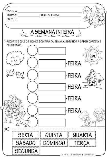 A Arte de Ensinar e Aprender: Atividades alfabetização …