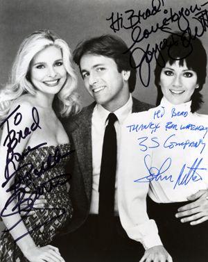 Priscilla Barnes, Joyce DeWitt, John Ritter