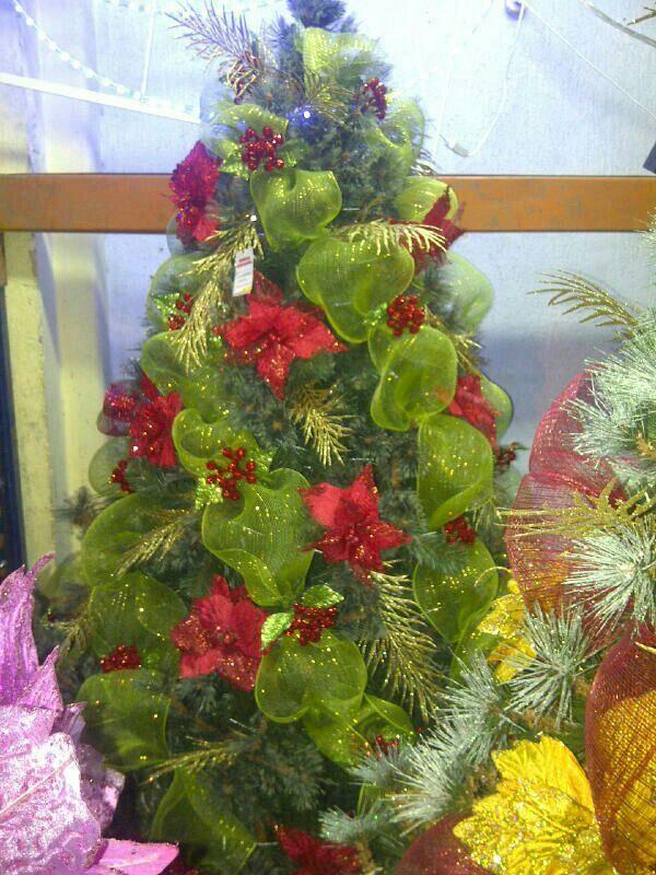 Arbol de navidad navidad pinterest navidad - Arbol de navidad tela ...