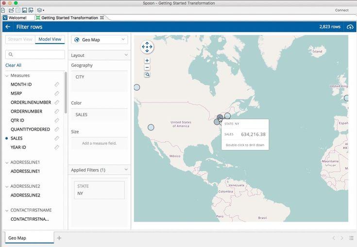 Pentaho 7.1 visualise l'intégration de données avec Spark - Le Monde Informatique
