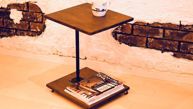 簡単DIY 低コスト キャスター付サイドテーブル|LIMIA (リミア)