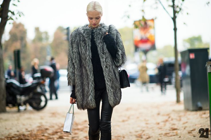 Sasha Luss Fur Russian Models And Fur Coat