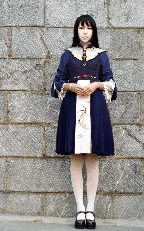 ★★★ UN ARCO™ ***Phoenix Embroidery*** Qi Lolita Dress ★★★ Get one now >>> http://www.my-lolita-dress.com/un-arco-phoenix-embroidery-qi-lolita-op-dress-ua-1