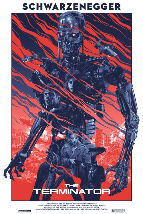 The Terminator Poster by Gabz