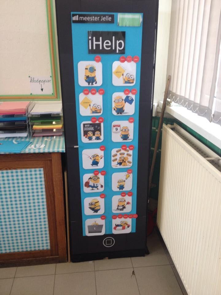 iHelp Minions, een superleuk takenbord voor in de klas!