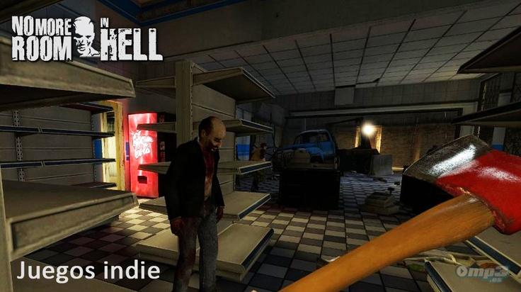 Juegos indie: No More Room in Hell -   Diseñado como un mod para Half-Life 2, este juego de acción de tipo survival se enmarca dentro del cada vez menos hipotético apocalipsis zombie. ¡Debes jugarlo! - Descarga No More Room in Hell:  http://descargar.mp3.es/lv/group/view/kl229090/No_More_Room_in_Hell.htm?utm_source=pinterest_medium=socialmedia_campaign=socialmedia