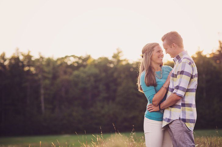 Pin for Later: This Lakeside Engagement Session Will Make You Crave East Coast Travels