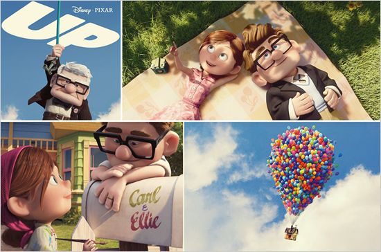 """The movie """"UP"""", I truly love this movie and laugh and cry every time, gem of a movie, classic:)"""