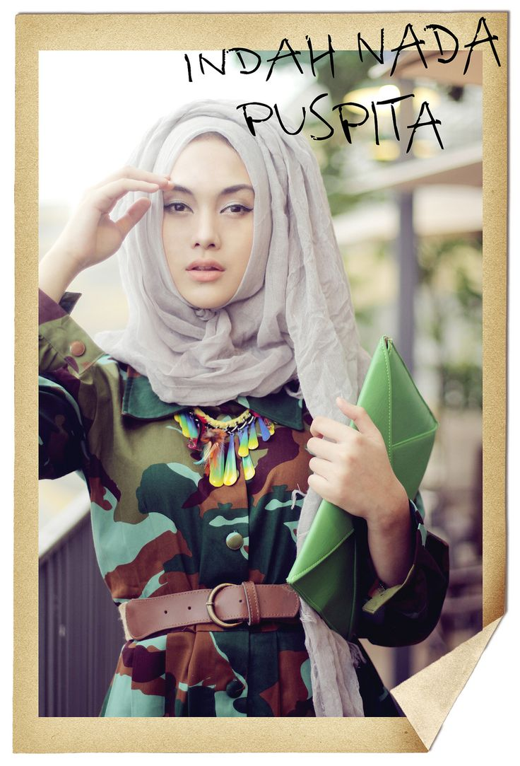 https://www.instagram.com/wrdnfashionindo/ - Indah Nada Puspita - Hijab Fashion Blogger