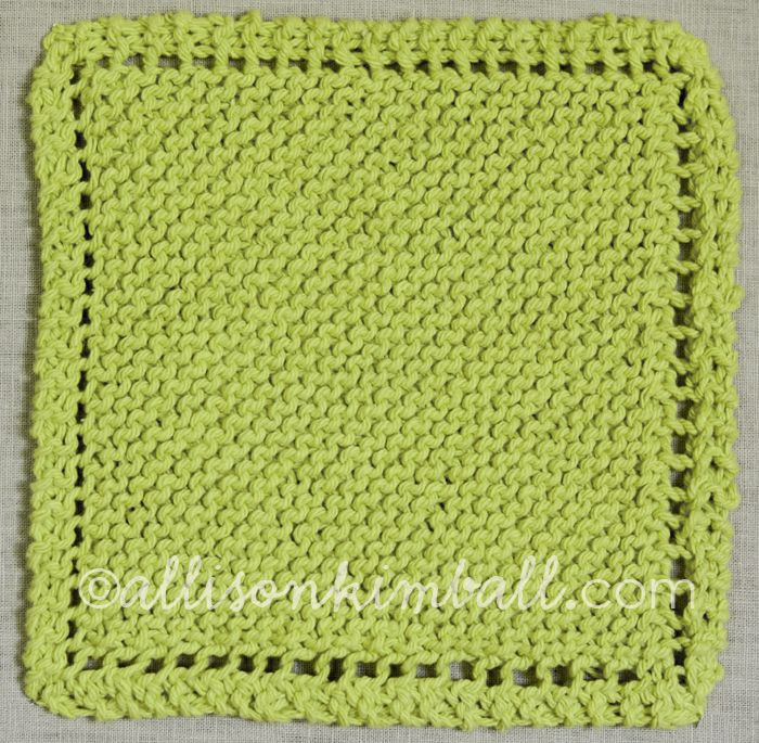 Simple Dishcloth Knitting Pattern : Best 25+ Knitted dishcloths ideas on Pinterest Knit ...