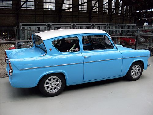 Ford Anglia GT my beautiful car old days
