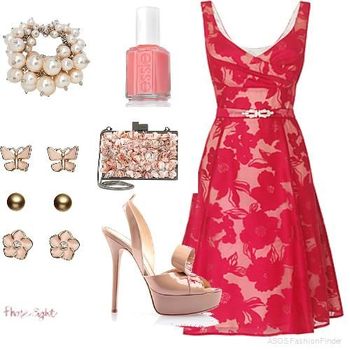 Spectacular Wedding guest outfit in UK by Maria Samara