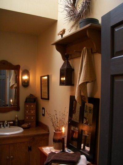 Best 25+ Primitive Country Bathrooms Ideas On Pinterest