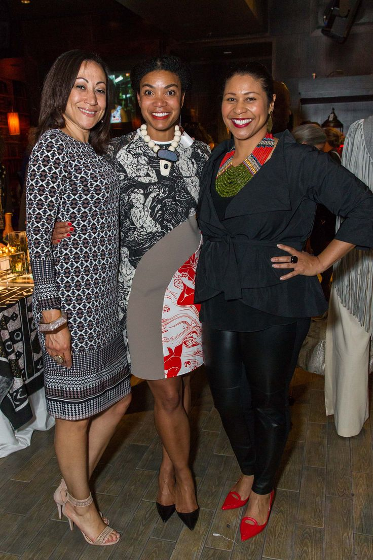 Jennifer Madden, Sherri McMullen (wearing Jane Signorelli necklace) and London Breed (wearing Masha Archer necklace). InspiredLuxe.com - Handcrafted Luxuries from Around the Globe || #inspiredluxe #culturedstyle #worldstyle #globalstyle #fashion #sanfrancisco #launchevent #onlineshopping #homedecor #interiordesign #jewelry #handmade #handcrafted #artisan #fairtrade #ethicalfashion #socialenterprise #artisanmade #accessory #necklace #beaded #tribaljewelry #ethnicjewelry #statementjewelry
