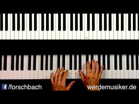 All of me John Legend - Piano Tutorial deutsch - Teil 3 - german - YouTube