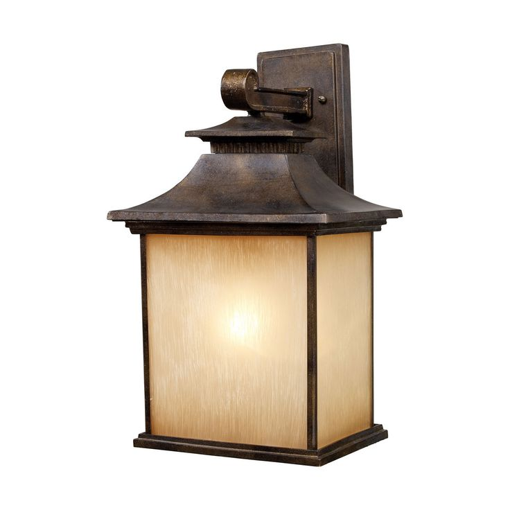Visit The Home Depot To Buy Titan Lighting San Gabriel Outdoor Hazelnut Bronze Wall Sconce