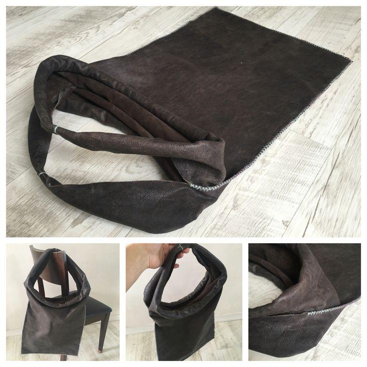 vintage style leather bag