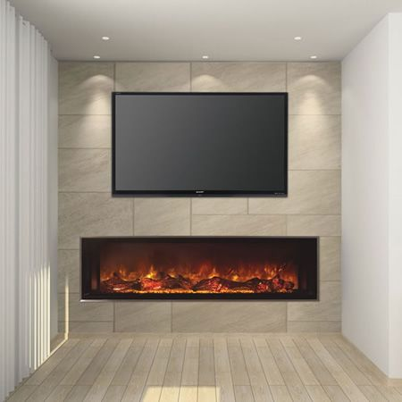 Moscow house uses texture to create interest - 536 Best Tv And Fireplaces Images On Pinterest