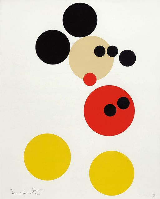 Damien Hirst | Mickey (2014) | Available for Sale | Artsy