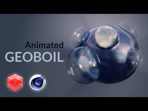 Geoboil effect with animation without xpresso [Redshift] [CINEMA 4D TUTORIAL] - YouTube