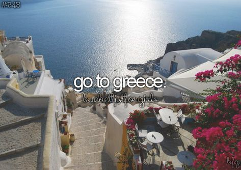 Greece is a beautiful place! It on my list of places to travel right up there with France and Norway!: