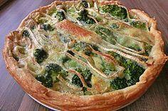 Blätterteig - Quiche mit Brokkoli und Camembert (Rezept mit Bild)   Chefkoch.de