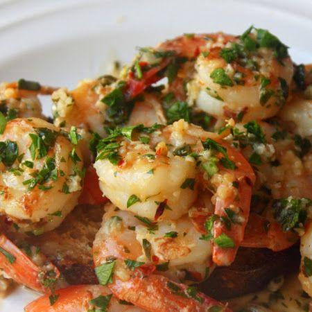 Spicy Lemon Garlic Shrimp