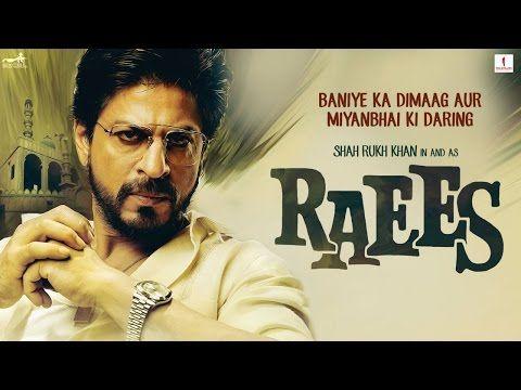 Raees Teaser | Shah Rukh Khan I Mahira Khan | Nawazuddin Siddiqui - YouTube