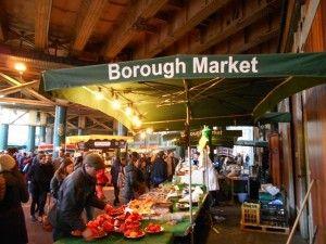Borough Market at London Bridge.  Read the BooBoots review here: http://booboots.com/borough-market-london-bridge/