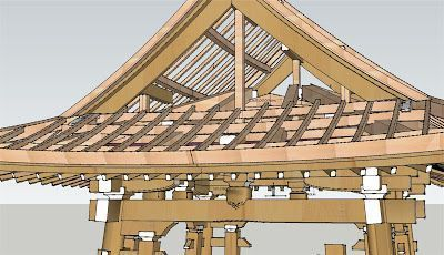 Chinese Architecture / Roofs in traditional Chinese architecture. #chinesearchitecture