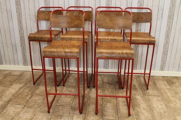 These vintage tall bar stools are a great addition to our large selection of vintage and industrial furniture. Here at Peppermill Antiques, we offer the service of having any of our tubular stacking chairs professionally altered by our in-house welder. - See more at: http://www.peppermillantiques.com/vintage-tall-bar-stools-can-be-altered/#sthash.RHkfTrsd.dpuf