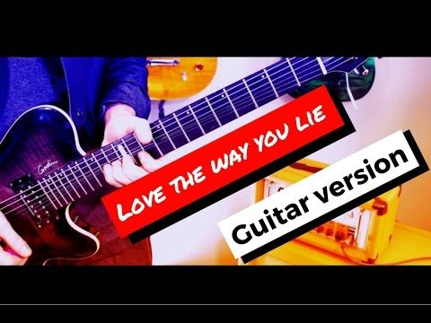 Love the Way You Lie - Skylar Grey and Eminem (Guitar Cover) || InVinceble - YouTube
