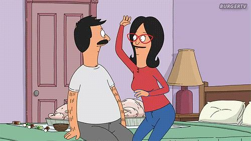 """And you really want your marriage to be like Bob and Linda's. 