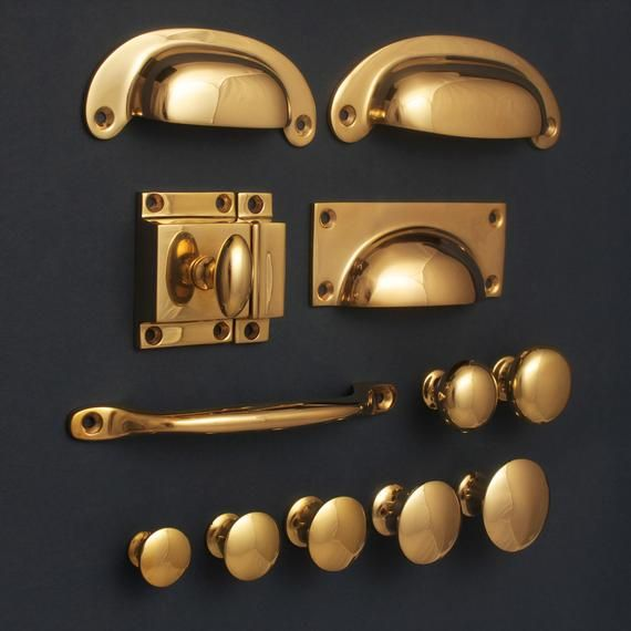 Pin On Basement Remodel, Brass Cabinet Pulls And Knobs