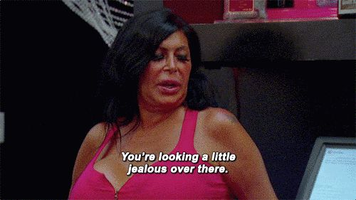 "You know the only way to deal with haters is confrontation. | Community Post: 15 Signs You Are Big Ang From ""Mob Wives"""