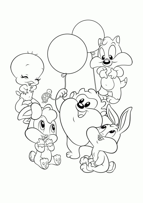 baby toones coloring pages - photo#21