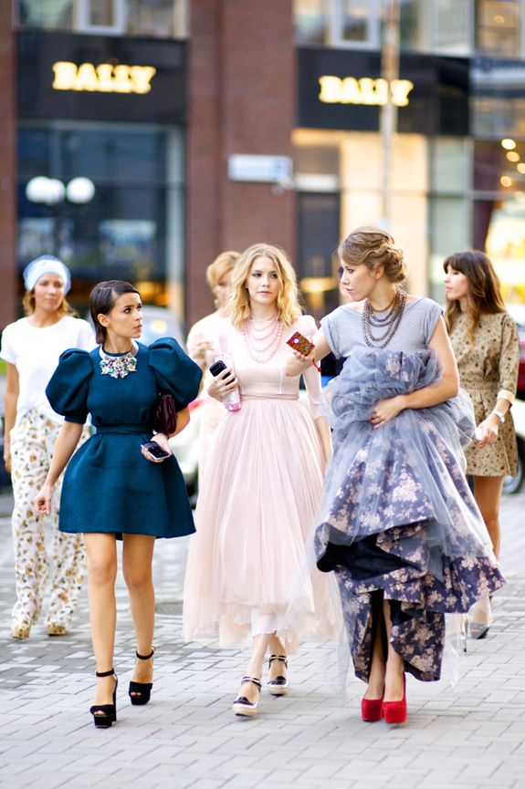 this is how i'll dress everyday: Real Life, Dresses Up, Fashion Style, Fashion Week, Street Style, Mira Warming, Quirky Style, Miroslava Duma, The Dresses