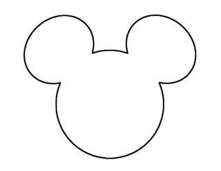 mickey mouse outline template | As promised, I will post the DIY Invitation we made for Matt's second ...