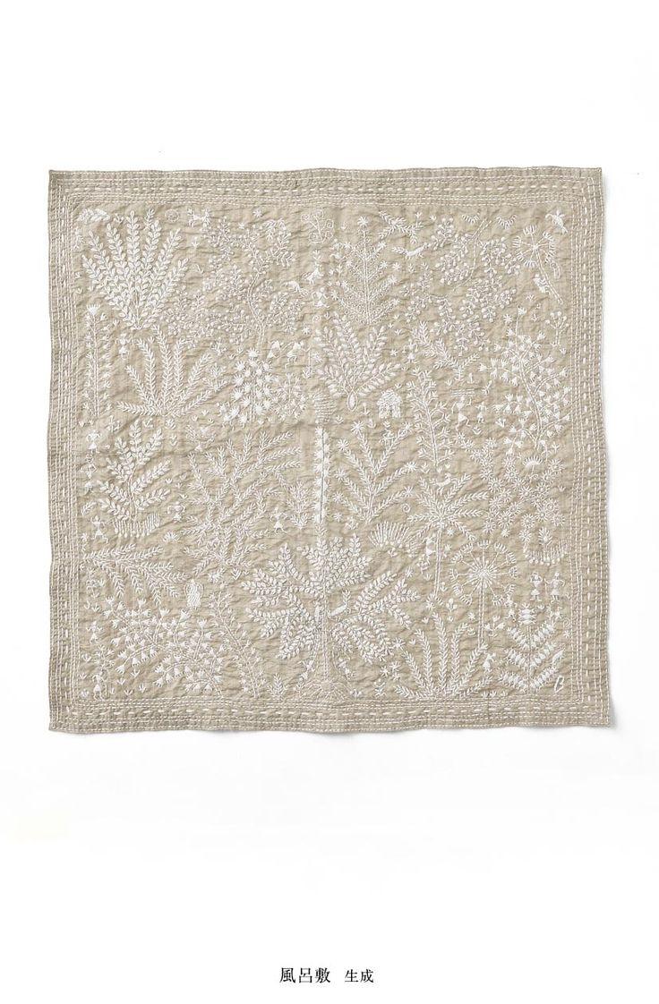 刺繍の風呂敷   ヨーガンレール ババグーリ オンラインショップ / Jurgen Lehl, Babaghuri Onlineshop