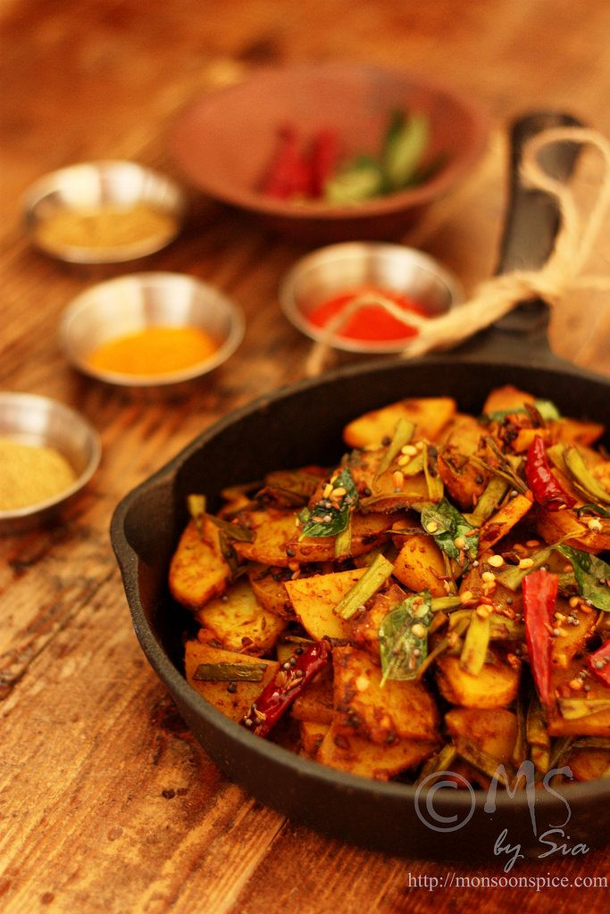 Monsoon Spice   Unveil the Magic of Spices...: Aloo-Guvar Subji Recipe   Spicy Potato & Cluster Beans Curry