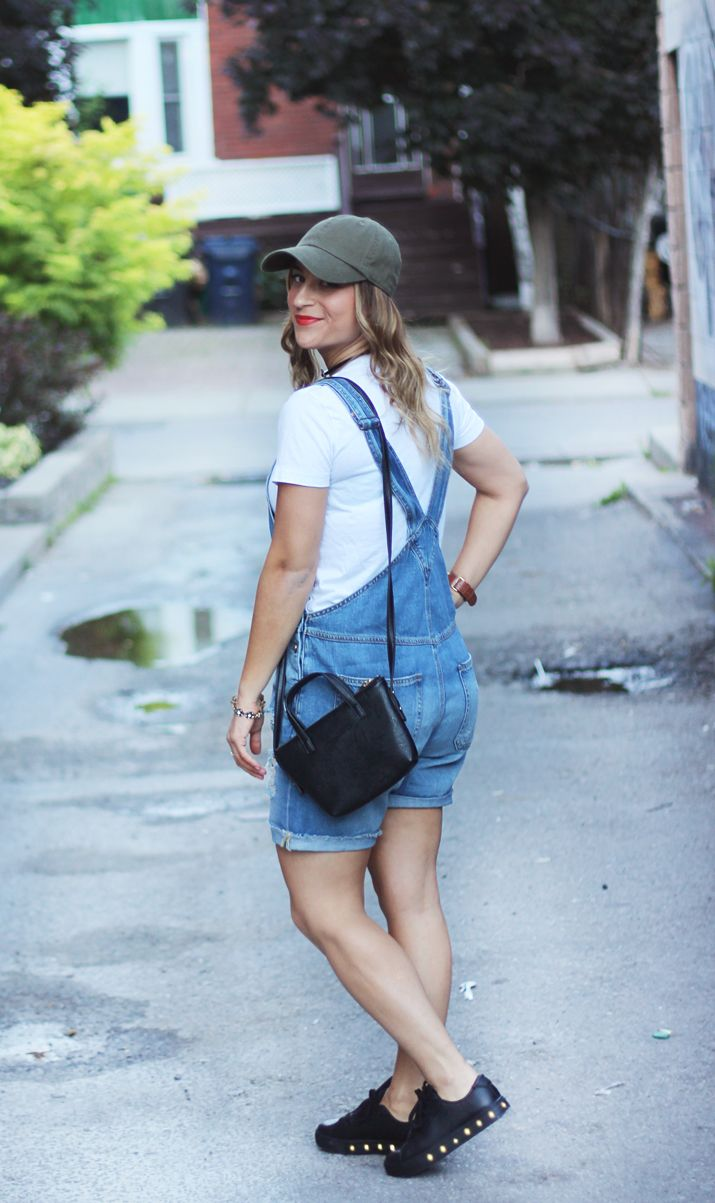 How to Wear Overalls Fashionably | http://somethingaboutthat.com