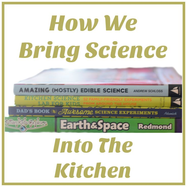 Bringing Science Into The Kitchen With Bright Ideas Press Christian Kids Explore Earth & Space