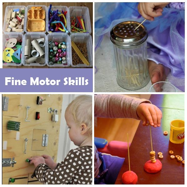 Activities to help develop fine motor skills in a 2 year old