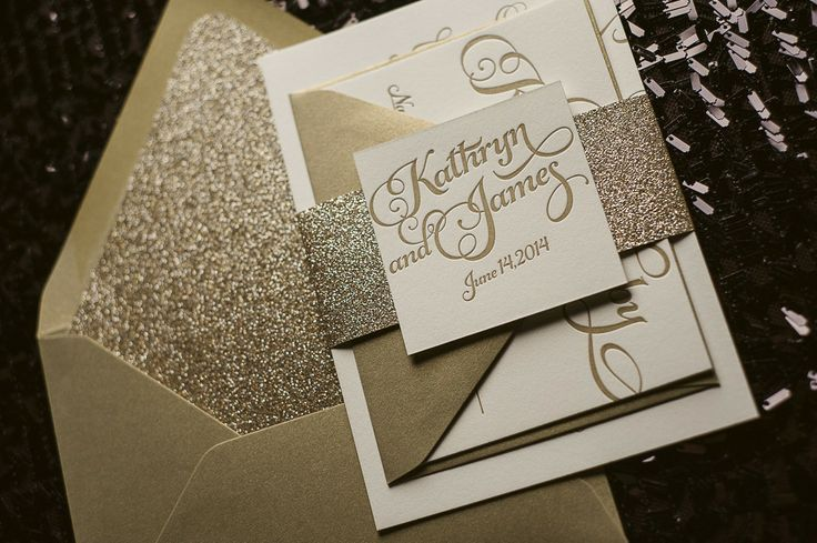 Beautiful, Affordable Letterpress Wedding Invitations. Featured Designer: Jupiter and Juno