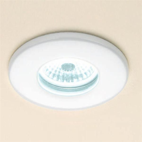 HiB Cool White Fire Rated LED Showerlight - White or Chrome