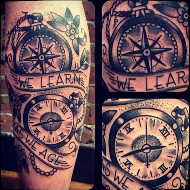 37 best melting compass tattoo images on pinterest tattoo ideas design tattoos and tattoo designs. Black Bedroom Furniture Sets. Home Design Ideas