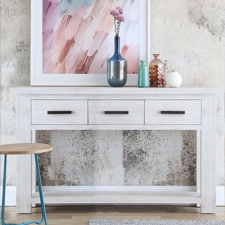 ALASKA buffet dressed with stylish homewares and pastel hue prints .. create the space you love #interiorstyling #interiordecorating #ontrendliving