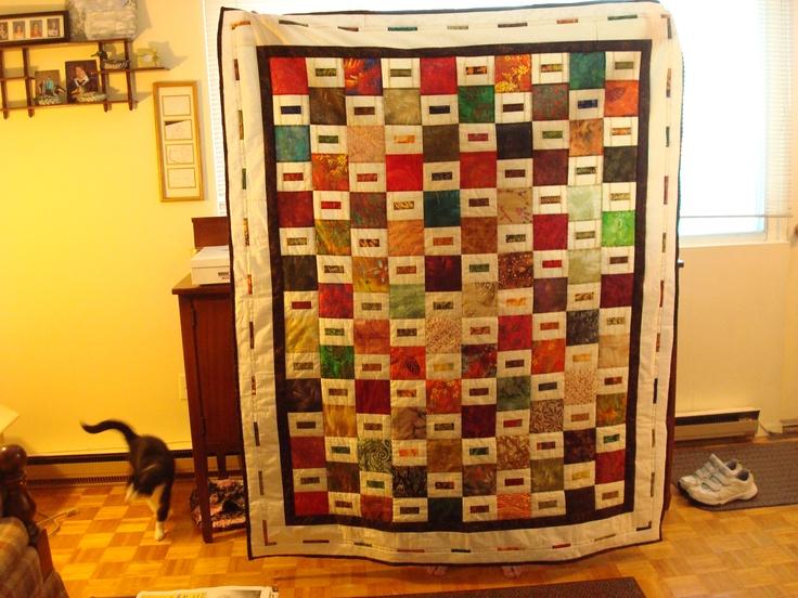 Teresa's quilt.