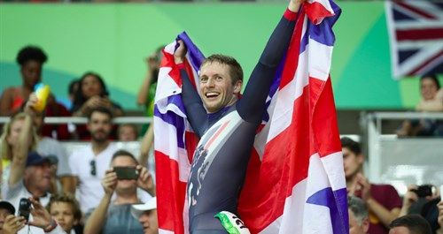 Jason Kenny takes second gold medal on the track for Great Britain